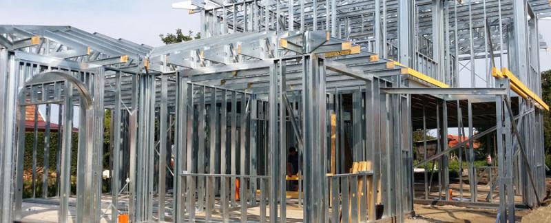 Beliot - könnyűszerkezetes készházak - acélszerkezet
